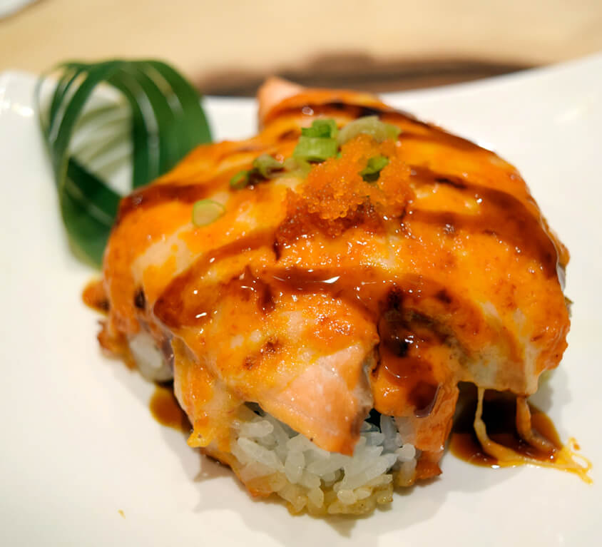 6.Baked Salmon Roll