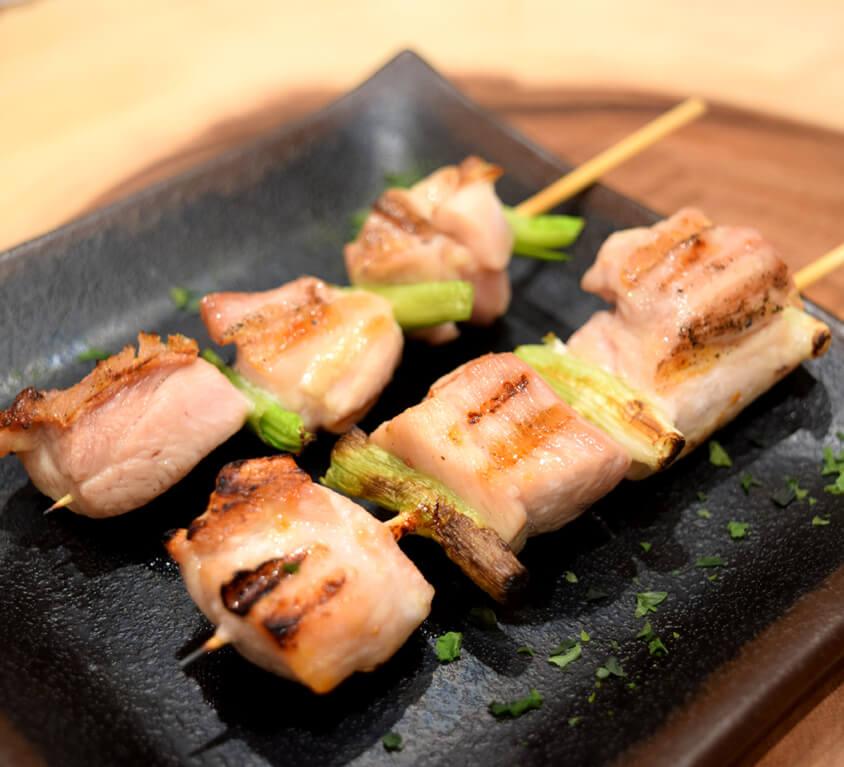 10.Chicken Yakitori