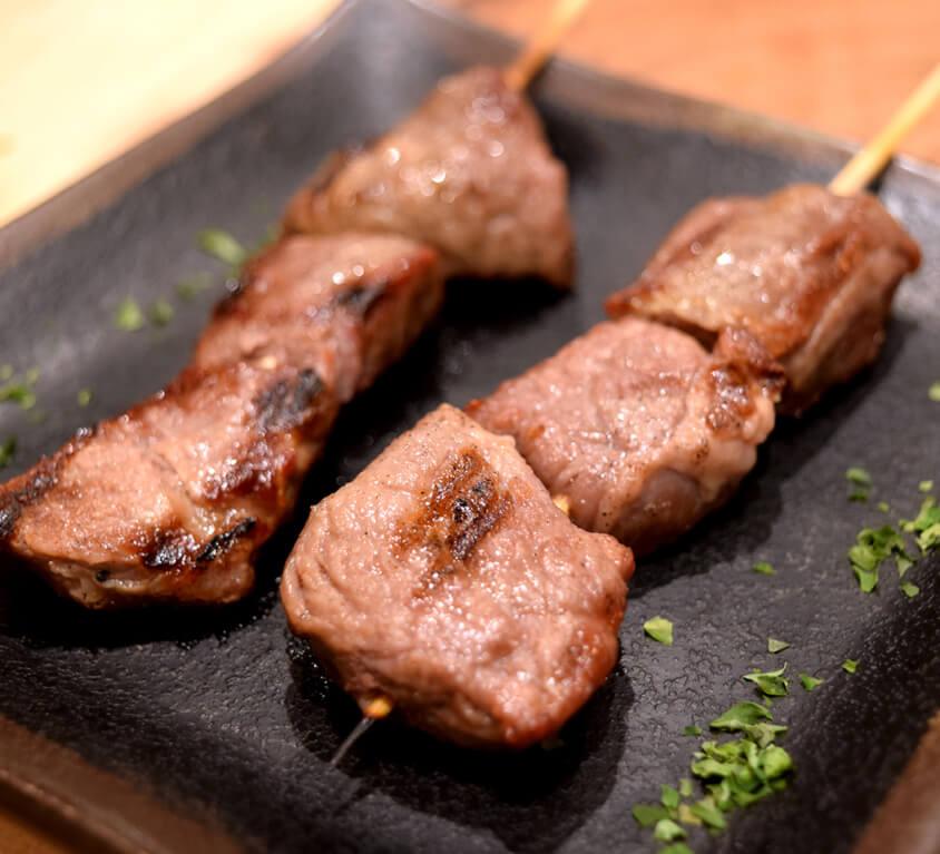 5.Beef Yakitori