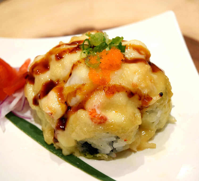 1.Baked Lobster (Craw fish) Roll