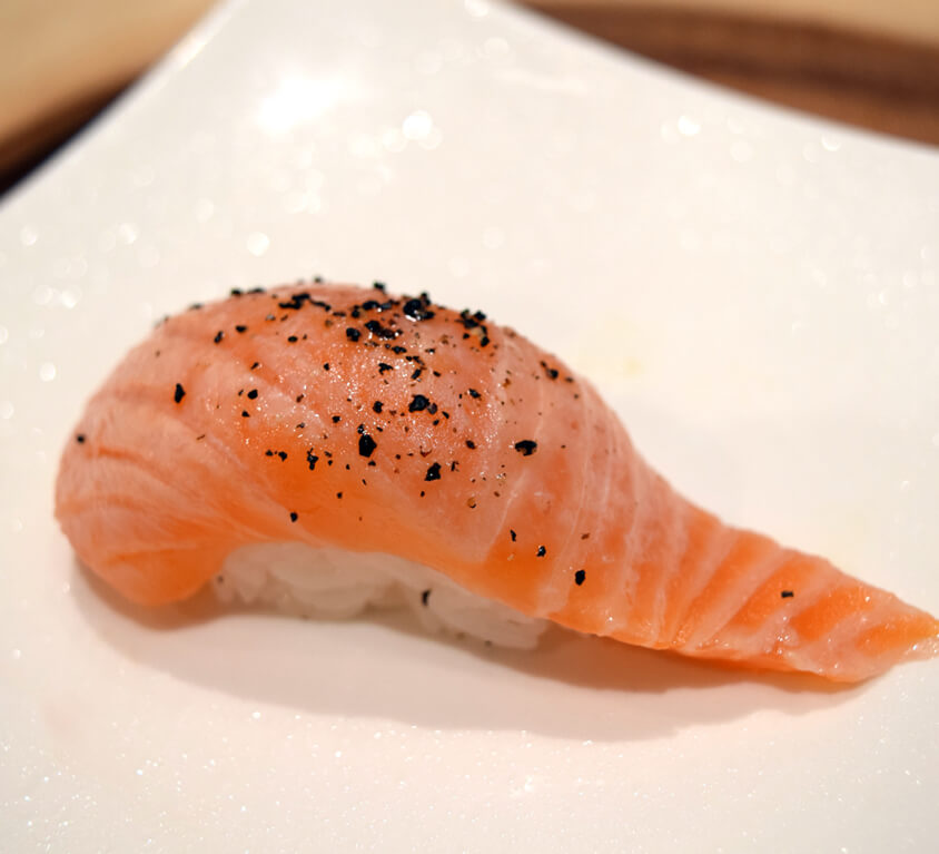 7.PEPPERED SALMON